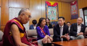 台湾在野党立委林昶佐转述达赖喇嘛乐意访台