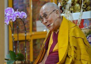 达赖喇嘛尊者为台湾信众举行的法会圆满结束