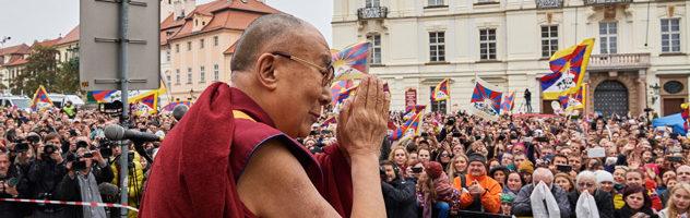 达赖喇嘛尊者在捷克强调保护西藏生态和文化的重要性