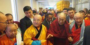 达赖喇嘛尊者抵达蒙古国