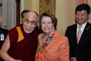 藏人行政中央司政致贺兰希·佩洛西女士再次当选为美国众议院议长