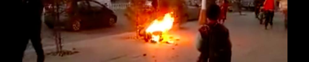 扎西热丹在玛曲县城自焚身亡
