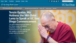 中国留学生抗议达赖喇嘛演讲,美国人如何看