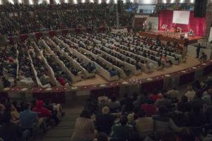 达赖喇嘛尊者应邀在新德里向青年学生讲话