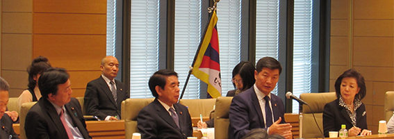 西藏流亡政府总理洛桑桑盖访日突出西藏问题