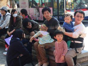台藏家庭与人权团体赴行政院陈情
