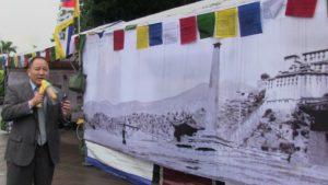 台湾自由广场举办图说西藏历史展