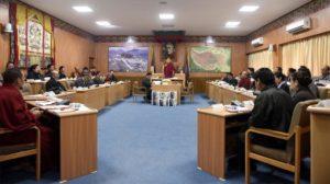 第十六届西藏人民议会第三次会议在达然萨拉召开