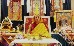 西藏甘丹法座圆寂 内阁宗教部长出席法体火化仪式