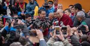 北京当局不满达赖喇嘛访问印度东北部 印度政府称中国不应干涉印度内部事务
