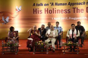 达赖喇嘛尊者正在访问阿萨姆邦和阿鲁纳恰尔邦