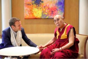 国际声援西藏运动(ICT)祝贺马克龙当选法国总统
