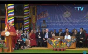 达赖喇嘛欢迎美国国会跨党派代表团 强调西藏支持者皆为正义而来
