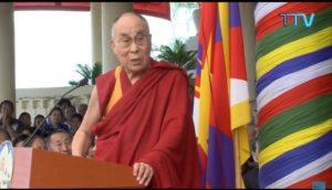 达赖喇嘛尊者在美国国会高级代表团访问达然萨拉时的讲话