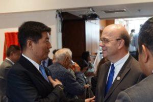 司政洛桑森格在新一届美国政府执政后首次访问华盛顿