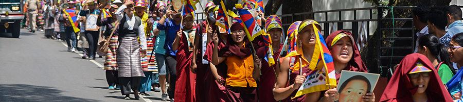 流亡藏人纪念班禅喇嘛被强制失踪二十二年