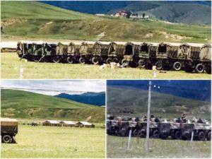 前一阵西藏康区理塘县被军控犹如战区