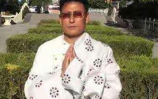 西藏知名前政治犯洛珠嘉措的视频讲话