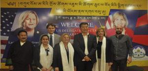 美国国会代表团访问达兰萨拉并与达赖喇嘛尊者会晤