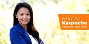 西藏裔加拿大人普赤·噶布切女士当选为加拿大安大略省议会议员