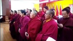 """中国当局强迫藏人学唱红歌迎""""七一"""""""