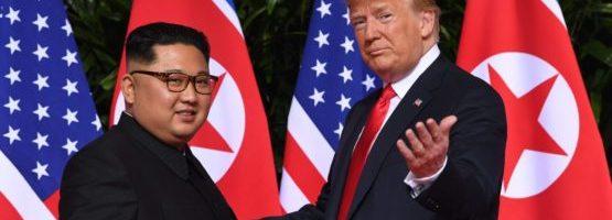 达赖喇嘛尊者祝贺美国总统川普与朝鲜领导人金正恩在新加坡举行历史性会晤