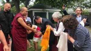 法王噶玛巴访问咕噜咕咧藏传佛学中心