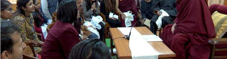 二十二名印度中青年学者参加西藏议题研讨会