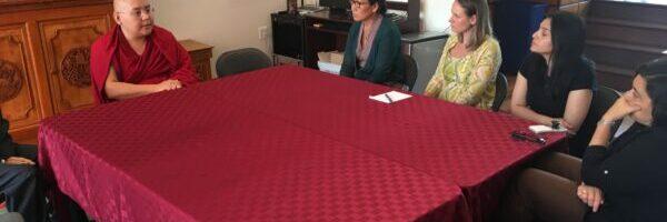 藏传佛教大师岭仁波切来访国际声援西藏运动