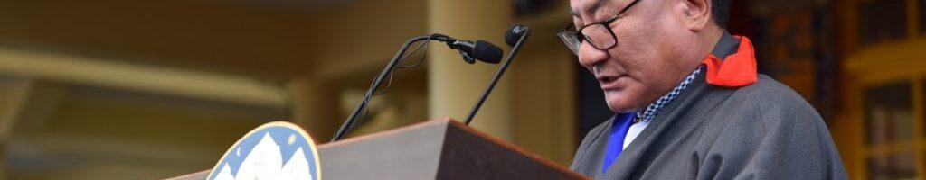 西藏人民议会在西藏自由抗暴第六十一周年纪念会上的讲话