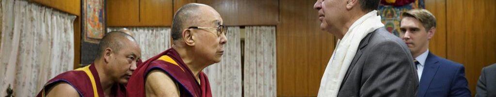 美官员:中共无权挑选下一任达赖喇嘛,在新疆的做法无助于反恐