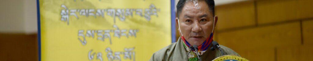 西藏人民议会在西藏自由抗暴第六十二周年纪念会上的讲话