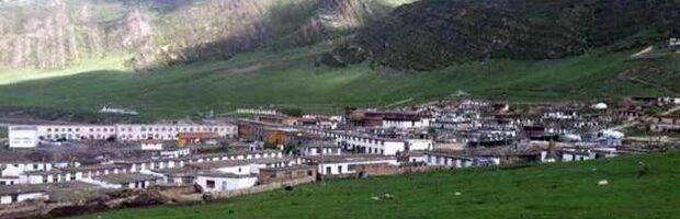 石渠县温波镇一百多个藏人遭关押