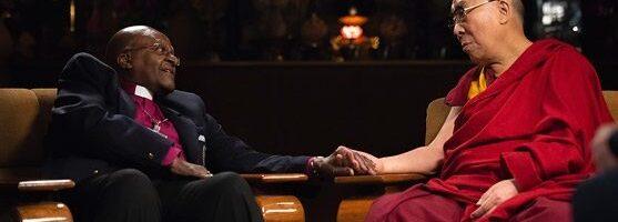 达赖喇嘛尊者对大主教戴斯蒙·屠图九十华诞的祝福